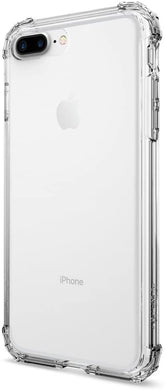 Spigen Coque iPhone 8 Plus Coque iPhone 7 Plus / 8 Plus® [Crystal Shell]  Extra Shock-Absorb [Clear Crystal] Clear Back Panel + Engineered TPU Bumper  for iPhone 7 Plus / 8 Plus - (043CS20314)