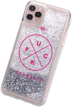 I Don't Care Coque pour iPhone 11 X XS XR Max Pro 7 8 7Plus 8 Plus 6 Motif  Swag
