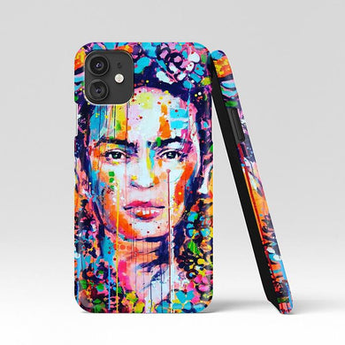 coque custodia cover case fundas hoesjes iphone 11 pro max 5 6 6s 7 8 plus x xs xr se2020 pas cher p8285 Abstract Painting Frida Kahlo