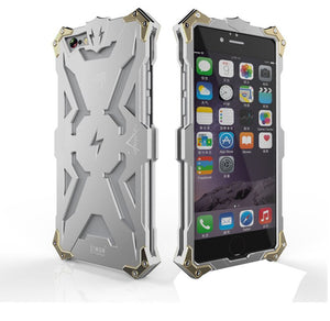 Armure en aluminium Thor étui pour iphone 8 7 6 6S Plus housse de protection le Flash Iron Man