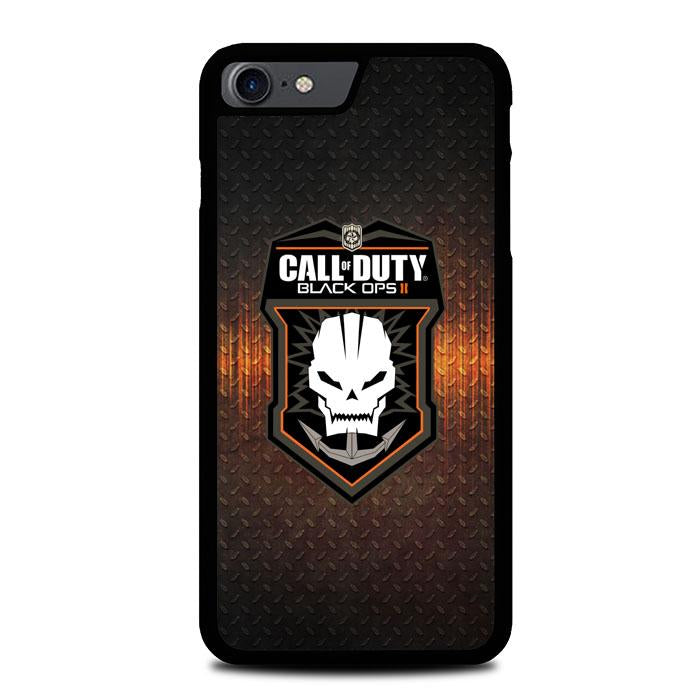 Call Of Duty Black Ops Games Skull Logo Z3674 iPhone 7 , iPhone 8 coque
