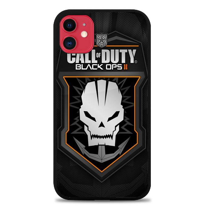 Call Of Duty Black Ops II Shooter Logo Z4703 iPhone 11 coque