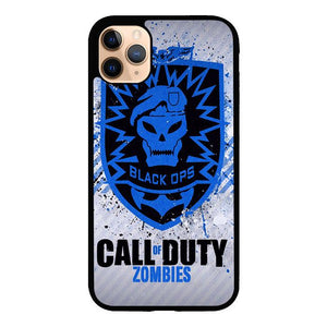 Call Of Duty Black Ops Zombie logo Z1194 iPhone 11 Pro Max coque