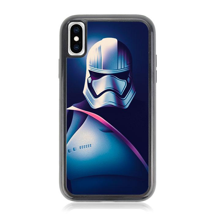 Captain Phasma Star Wars Z4502 iPhone X, XS coque