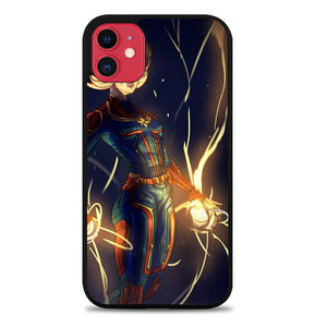 Captain marvel Z4127 iPhone 11 coque