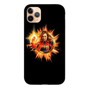 Captain marvel Z4478 iPhone 11 Pro coque