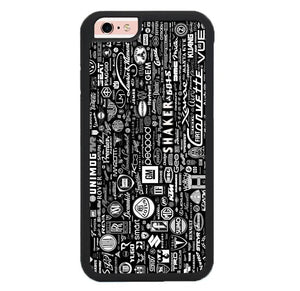 Car Logo pattern Z4785 iPhone 6 , 6S coque