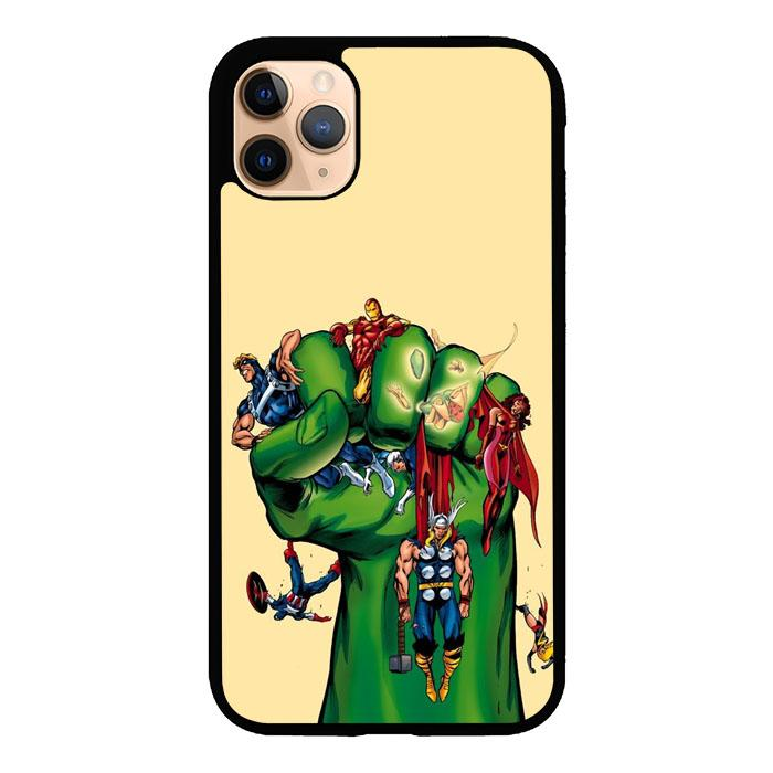 Cartoon Hulk Z4089 iPhone 11 Pro coque