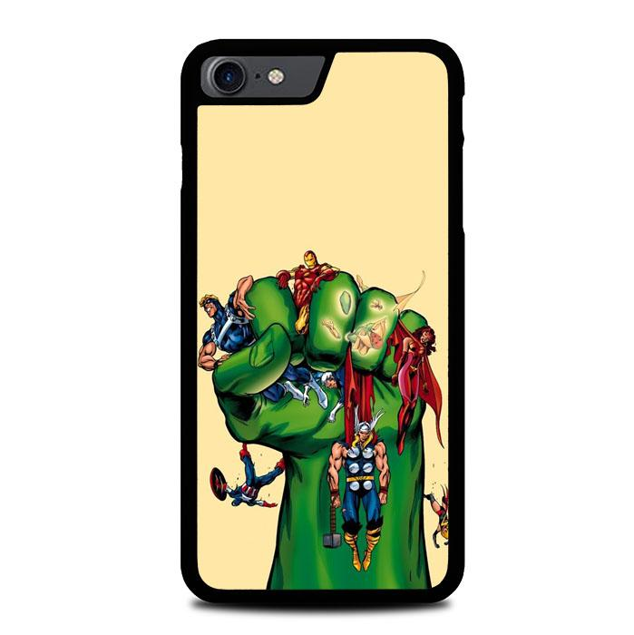 Cartoon Hulk Z4089 iPhone 7 , iPhone 8 coque