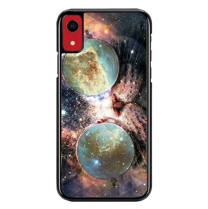 Cat Galaxy nebula Z1620 iPhone XR coque