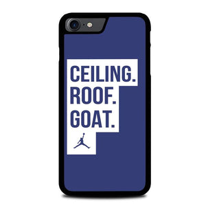 Ceiling Roof Goat UNC Jordan North Carolina Z4724 iPhone 7 , iPhone 8 coque