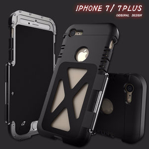 En Acier inoxydable Flip Iron Man étui pour iPhone 11 Pro Max XS Max XR X iPhone 8 7 6 6S Plus