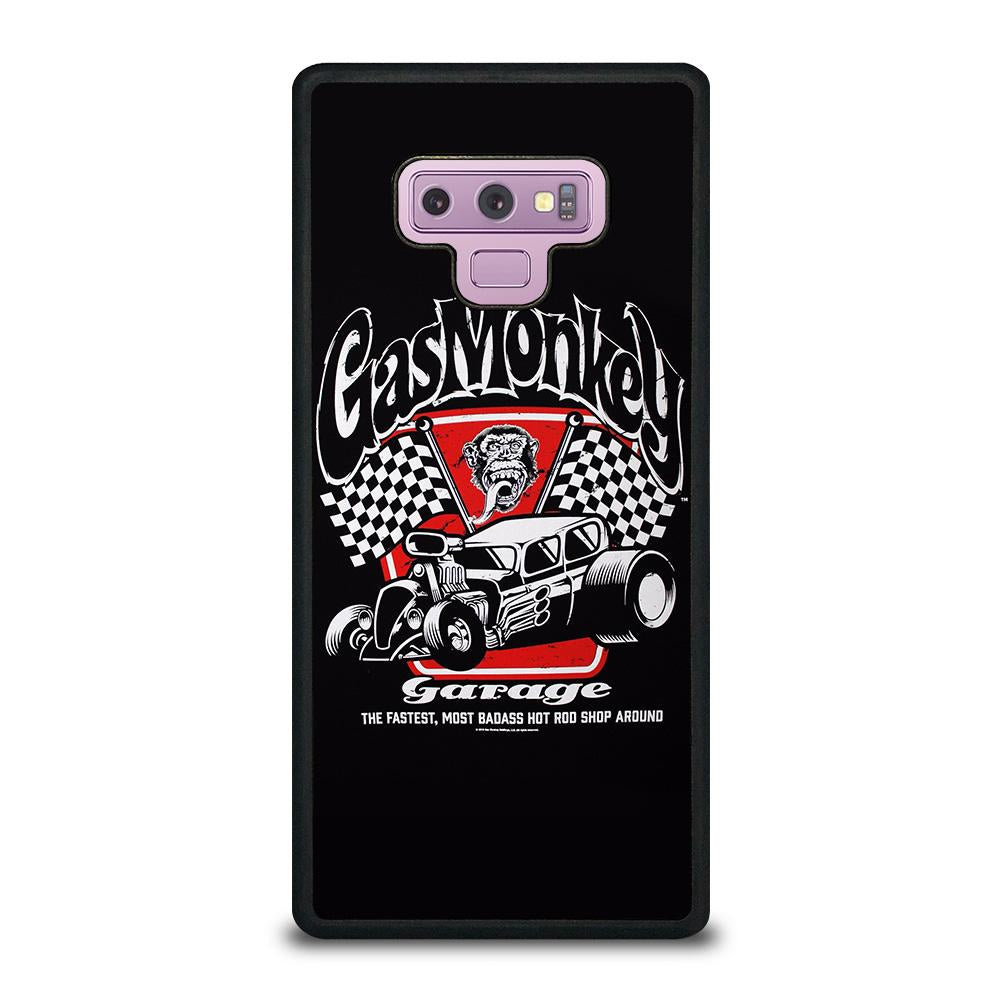 coque custodia cover fundas hoesjes j3 J5 J6 s20 s10 s9 s8 s7 s6 s5 plus edge D25004 GAS MONKEY GARAGE #2 Samsung Galaxy Note 9 Case