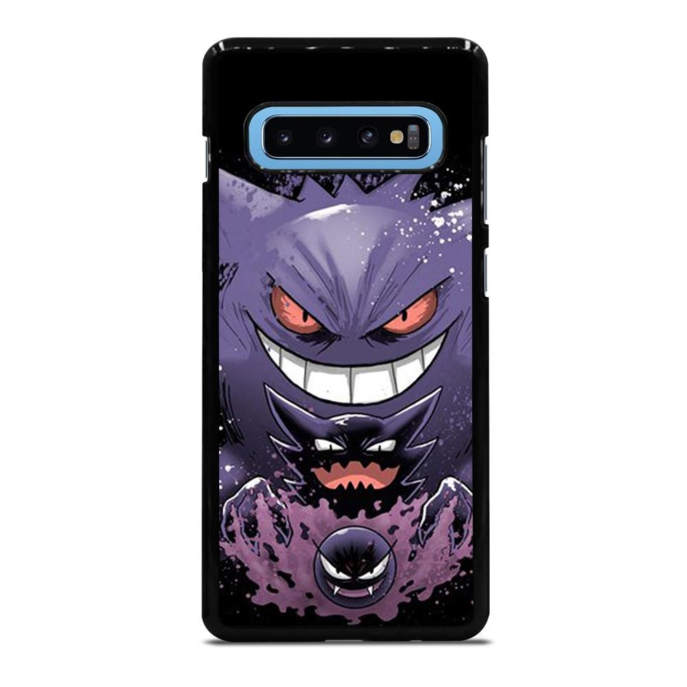 coque custodia cover fundas hoesjes j3 J5 J6 s20 s10 s9 s8 s7 s6 s5 plus edge D25026 GENGAR POKEMON #1 Samsung Galaxy S10 Plus Case