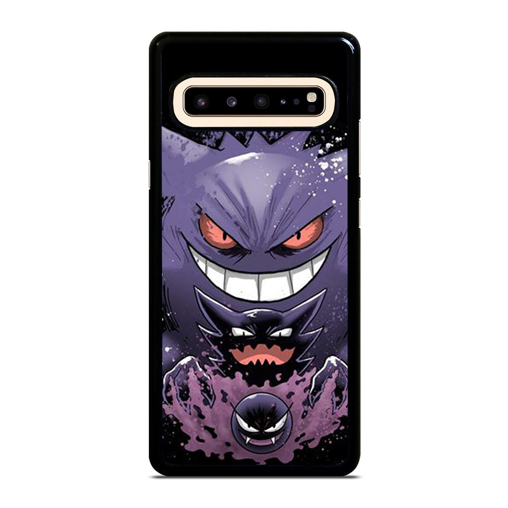 coque custodia cover fundas hoesjes j3 J5 J6 s20 s10 s9 s8 s7 s6 s5 plus edge D25023 GENGAR POKEMON #1 Samsung Galaxy S10 5G Case