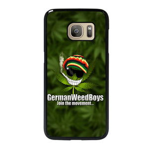 coque custodia cover fundas hoesjes j3 J5 J6 s20 s10 s9 s8 s7 s6 s5 plus edge D25076 GERMAN WEED BOYS Samsung Galaxy S7 Case