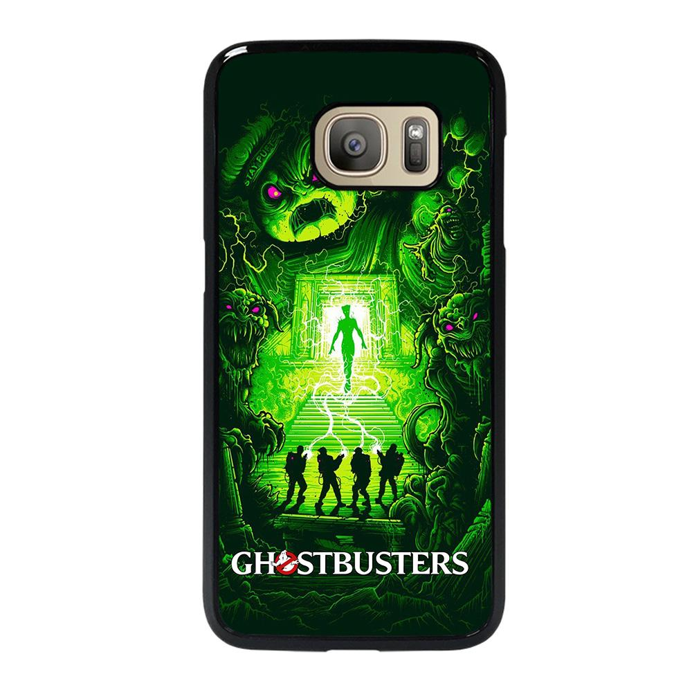 coque custodia cover fundas hoesjes j3 J5 J6 s20 s10 s9 s8 s7 s6 s5 plus edge D25090 GHOSBUSTERS ART Samsung Galaxy S7 Case