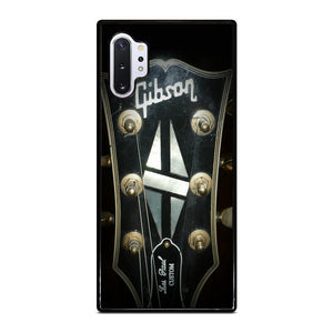 coque custodia cover fundas hoesjes j3 J5 J6 s20 s10 s9 s8 s7 s6 s5 plus edge D25143 GIBSON GUITAR LOGO Samsung Galaxy Note 10 Plus Case