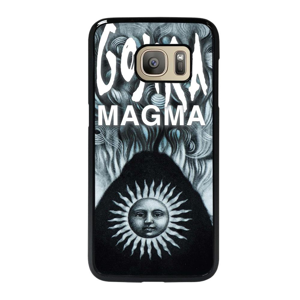coque custodia cover fundas hoesjes j3 J5 J6 s20 s10 s9 s8 s7 s6 s5 plus edge D25263 GOJIRA BAND 4 Samsung Galaxy S7 Case