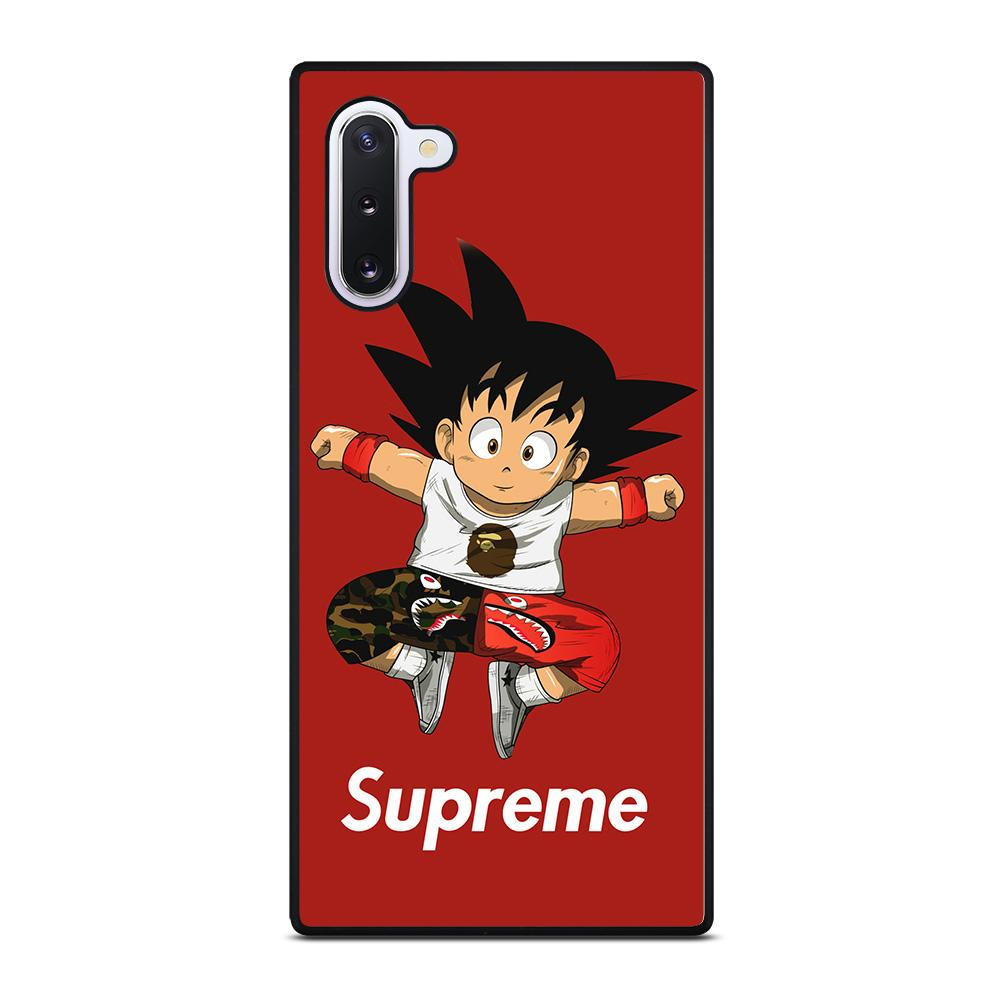 coque custodia cover fundas hoesjes j3 J5 J6 s20 s10 s9 s8 s7 s6 s5 plus edge D25326 GOKU SUPREME BAPE Samsung Galaxy Note 10 Case