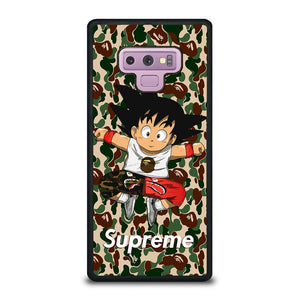 coque custodia cover fundas hoesjes j3 J5 J6 s20 s10 s9 s8 s7 s6 s5 plus edge D25298 GOKU SUPREME BAPE #1 Samsung Galaxy Note 9 Case