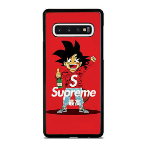 coque custodia cover fundas hoesjes j3 J5 J6 s20 s10 s9 s8 s7 s6 s5 plus edge D25314 GOKU SUPREME BAPE RED Samsung Galaxy S10 Case