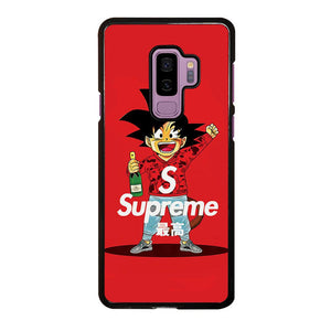 coque custodia cover fundas hoesjes j3 J5 J6 s20 s10 s9 s8 s7 s6 s5 plus edge D25325 GOKU SUPREME BAPE RED Samsung Galaxy S9 Plus Case
