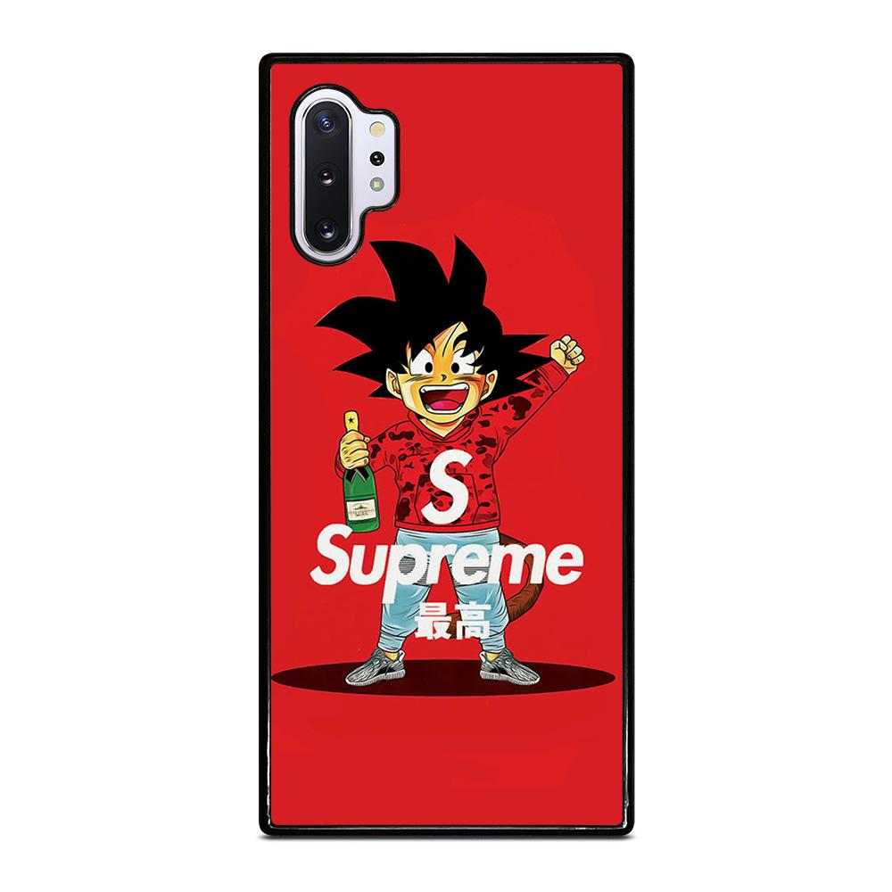 coque custodia cover fundas hoesjes j3 J5 J6 s20 s10 s9 s8 s7 s6 s5 plus edge D25310 GOKU SUPREME BAPE RED Samsung Galaxy Note 10 Plus Case