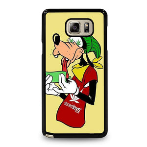 coque custodia cover fundas hoesjes j3 J5 J6 s20 s10 s9 s8 s7 s6 s5 plus edge D25428 GOOFY ROLL WEED Samsung Galaxy Note 5 Case