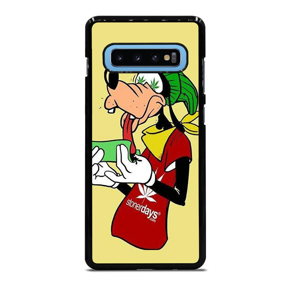 coque custodia cover fundas hoesjes j3 J5 J6 s20 s10 s9 s8 s7 s6 s5 plus edge D25434 GOOFY ROLL WEED Samsung Galaxy S10 Plus Case