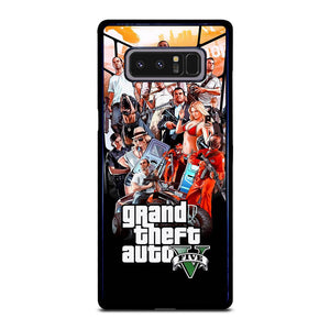 coque custodia cover fundas hoesjes j3 J5 J6 s20 s10 s9 s8 s7 s6 s5 plus edge D25474 GRAND THEFT AUTO V GTA 5 Samsung Galaxy Note 8 Case