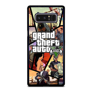 coque custodia cover fundas hoesjes j3 J5 J6 s20 s10 s9 s8 s7 s6 s5 plus edge D25460 GRAND THEFT AUTO V GTA 5 2 Samsung Galaxy Note 8 Case