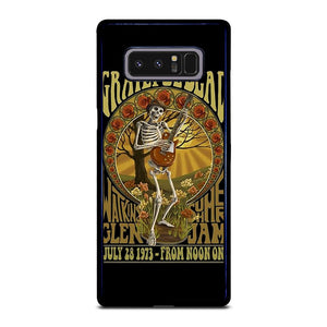 coque custodia cover fundas hoesjes j3 J5 J6 s20 s10 s9 s8 s7 s6 s5 plus edge D25506 GRATEFUL DEAD BLUES Samsung Galaxy Note 8 Case