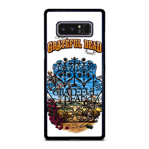 coque custodia cover fundas hoesjes j3 J5 J6 s20 s10 s9 s8 s7 s6 s5 plus edge D25534 GRATEFUL DEAD BONES AND ROSES #2 Samsung Galaxy Note 8 Case