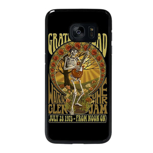 coque custodia cover fundas hoesjes j3 J5 J6 s20 s10 s9 s8 s7 s6 s5 plus edge D25513 GRATEFUL DEAD BLUES Samsung Galaxy s7 edge Case