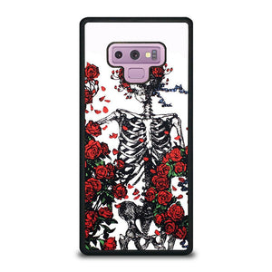 coque custodia cover fundas hoesjes j3 J5 J6 s20 s10 s9 s8 s7 s6 s5 plus edge D25551 GRATEFUL DEAD BONES AND ROSES Samsung Galaxy Note 9 Case