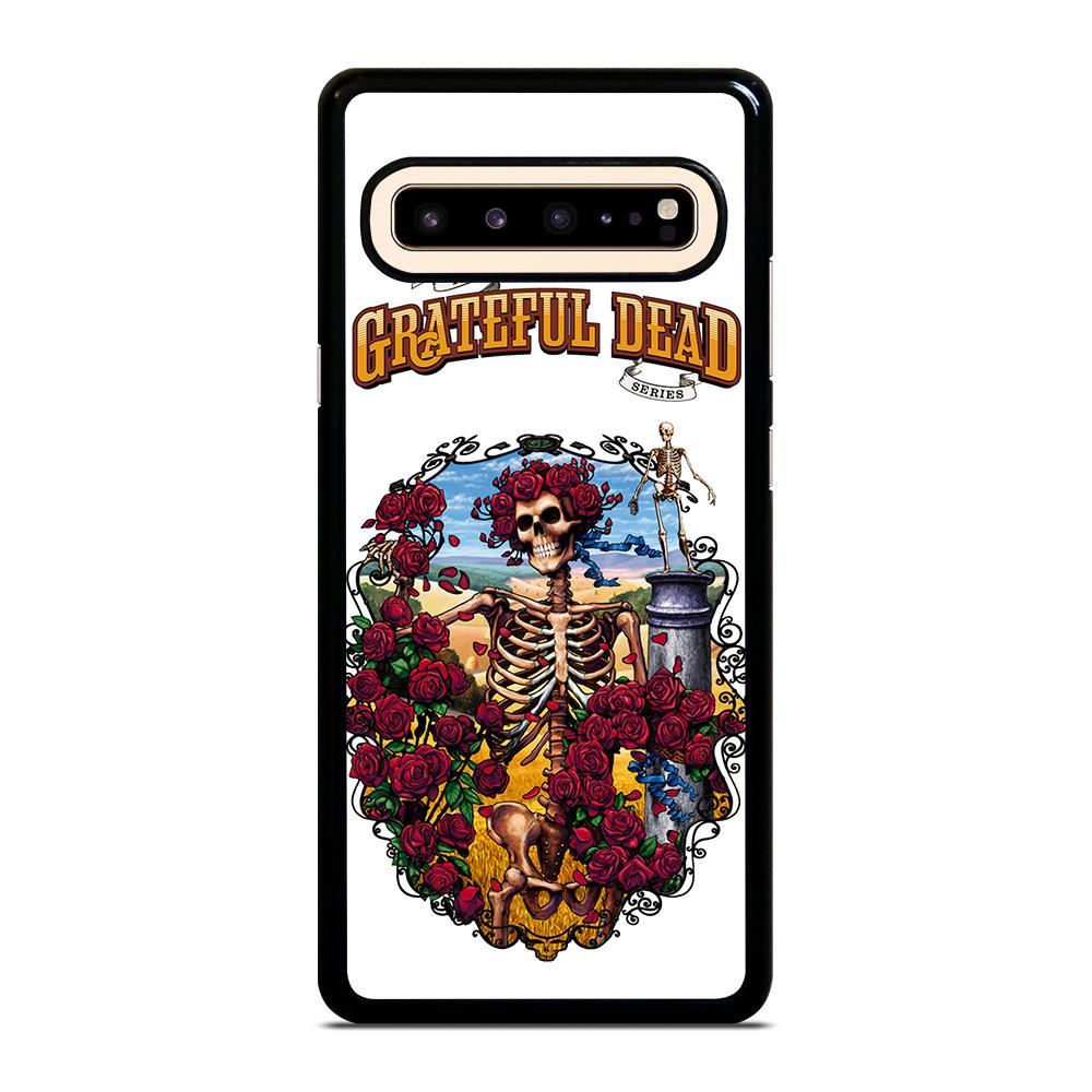 coque custodia cover fundas hoesjes j3 J5 J6 s20 s10 s9 s8 s7 s6 s5 plus edge D25522 GRATEFUL DEAD BONES AND ROSES #1 Samsung Galaxy S10 5G Case