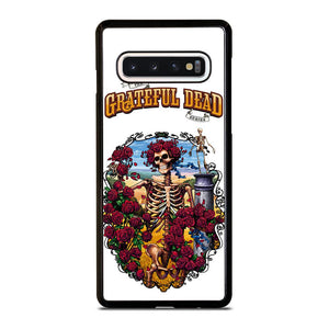 coque custodia cover fundas hoesjes j3 J5 J6 s20 s10 s9 s8 s7 s6 s5 plus edge D25523 GRATEFUL DEAD BONES AND ROSES #1 Samsung Galaxy S10 Case