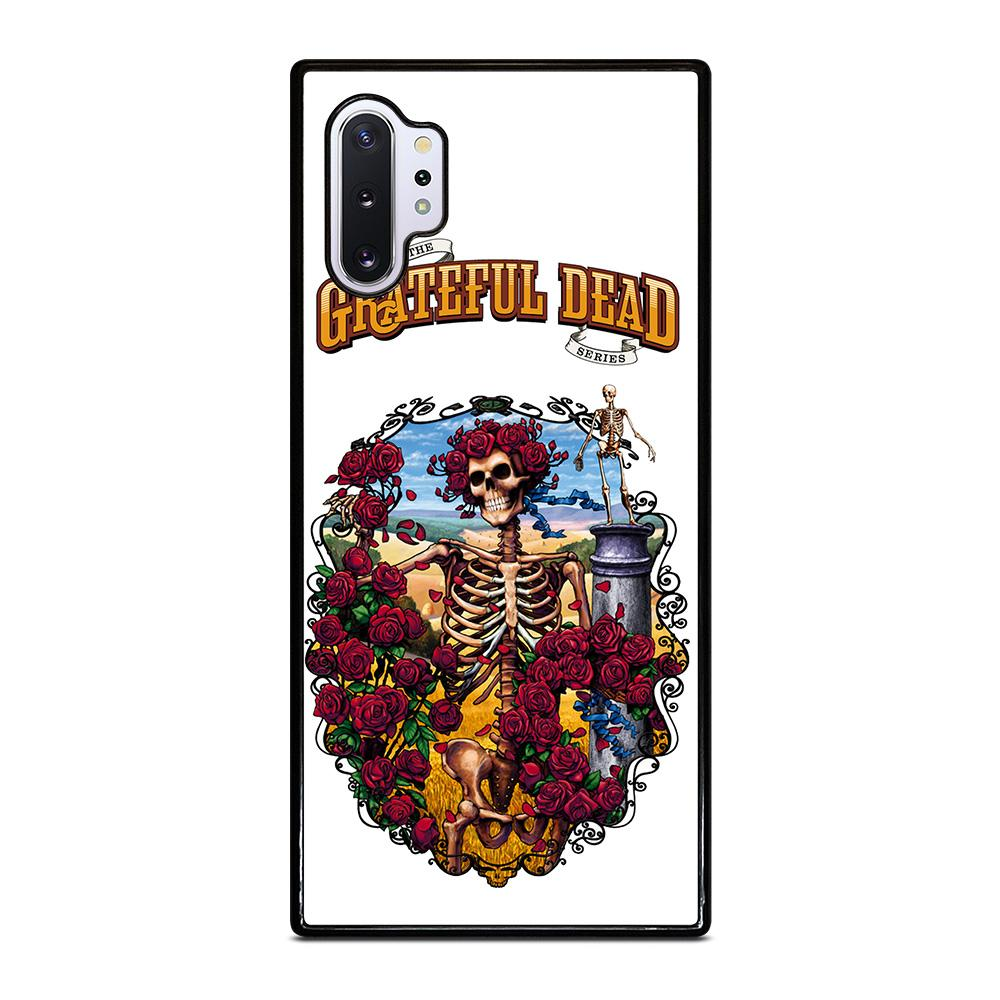 coque custodia cover fundas hoesjes j3 J5 J6 s20 s10 s9 s8 s7 s6 s5 plus edge D25519 GRATEFUL DEAD BONES AND ROSES #1 Samsung Galaxy Note 10 Plus Case