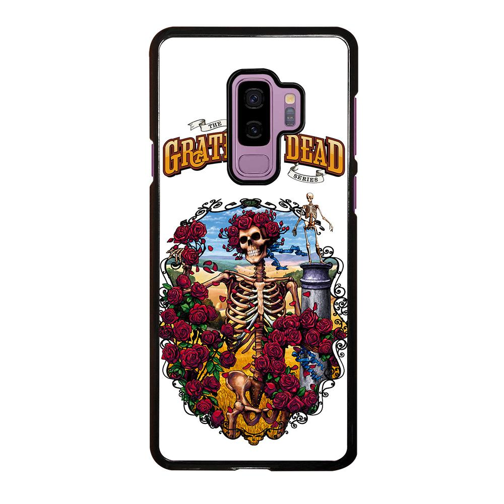 coque custodia cover fundas hoesjes j3 J5 J6 s20 s10 s9 s8 s7 s6 s5 plus edge D25531 GRATEFUL DEAD BONES AND ROSES #1 Samsung Galaxy S9 Plus Case