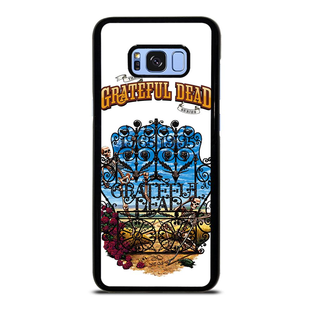 coque custodia cover fundas hoesjes j3 J5 J6 s20 s10 s9 s8 s7 s6 s5 plus edge D25543 GRATEFUL DEAD BONES AND ROSES #2 Samsung Galaxy S8 Plus Case
