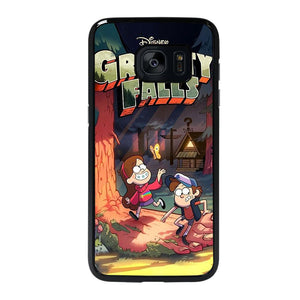 coque custodia cover fundas hoesjes j3 J5 J6 s20 s10 s9 s8 s7 s6 s5 plus edge D25638 GRAVITY FALLS #1 Samsung Galaxy s7 edge Case