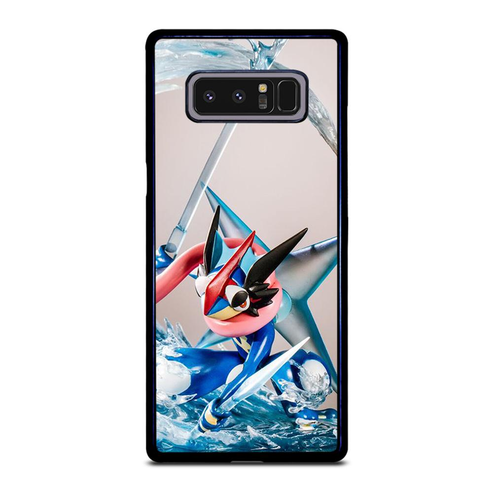 coque custodia cover fundas hoesjes j3 J5 J6 s20 s10 s9 s8 s7 s6 s5 plus edge D25731 GRENINJA POKEMON GO Samsung Galaxy Note 8 Case