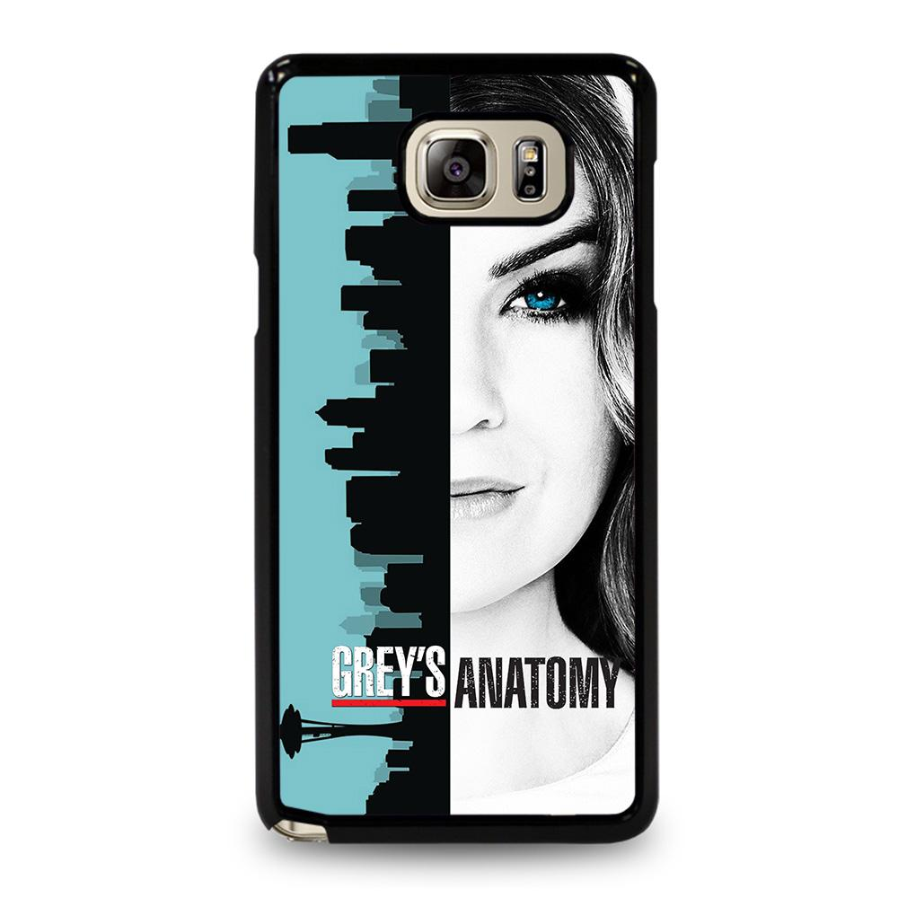 coque custodia cover fundas hoesjes j3 J5 J6 s20 s10 s9 s8 s7 s6 s5 plus edge D25763 GREYS ANATOMY MEREDITH Samsung Galaxy Note 5 Case