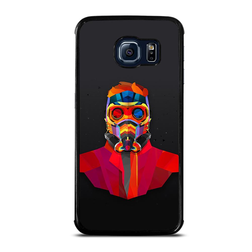 coque custodia cover fundas hoesjes j3 J5 J6 s20 s10 s9 s8 s7 s6 s5 plus edge D25817 GUARDIANS OF THE GALAXY STAR LORD Samsung Galaxy S6 Edge Case