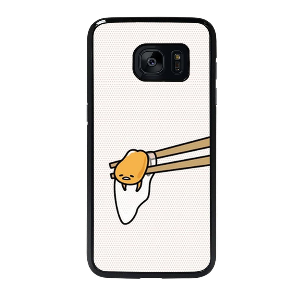 coque custodia cover fundas hoesjes j3 J5 J6 s20 s10 s9 s8 s7 s6 s5 plus edge D25916 GUDETAMA LAZY EGG CUTE 3 Samsung Galaxy s7 edge Case