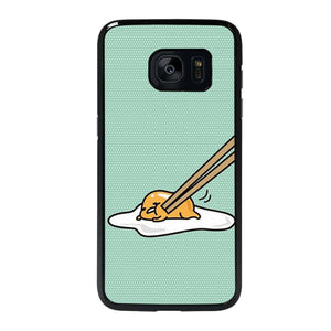 coque custodia cover fundas hoesjes j3 J5 J6 s20 s10 s9 s8 s7 s6 s5 plus edge D25930 GUDETAMA LAZY EGG CUTE 4 Samsung Galaxy s7 edge Case