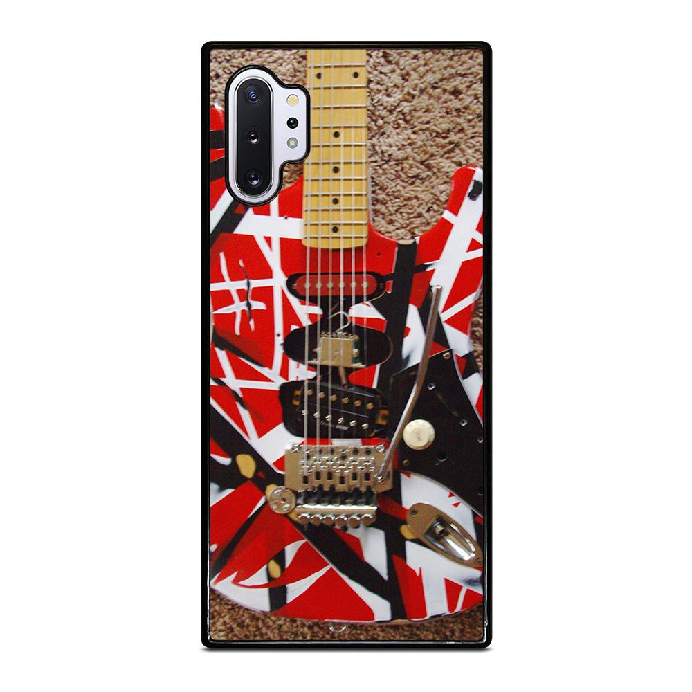 coque custodia cover fundas hoesjes j3 J5 J6 s20 s10 s9 s8 s7 s6 s5 plus edge D25950 GUITAR EDDIE VAN HALEN 1 Samsung Galaxy Note 10 Plus Case