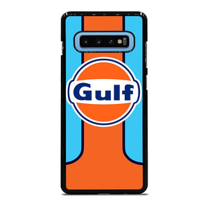 coque custodia cover fundas hoesjes j3 J5 J6 s20 s10 s9 s8 s7 s6 s5 plus edge D25998 GULF OIL MOTOR LOGO Samsung Galaxy S10 Plus Case