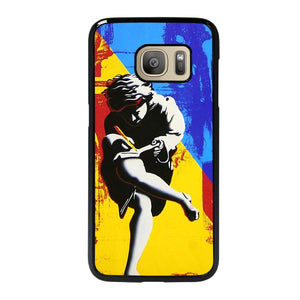coque custodia cover fundas hoesjes j3 J5 J6 s20 s10 s9 s8 s7 s6 s5 plus edge D26027 GUNS N ROSES COVER #1 Samsung Galaxy S7 Case